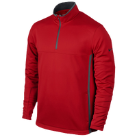 Nike Therma-Fit 1/2 Zip Golf Cover-Up - Men's - Red / Grey