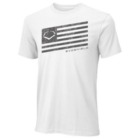 Evoshield Salute T-Shirt - Men's - White / Black