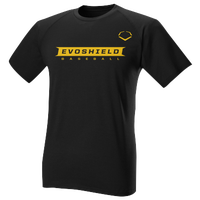 Evoshield Cutout T-Shirt - Men's - Black / Yellow