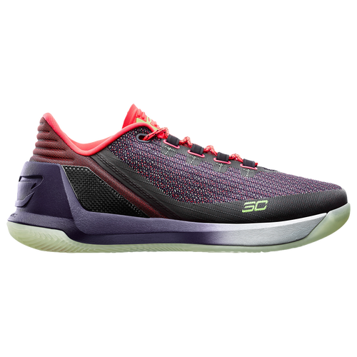 under armour curry 1 low purple green