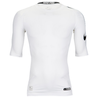 Nike Cool 1/2 Sleeve Compression Top - Men's - White / Black