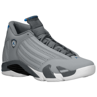 Jordan Retro 14 - Men's - Grey / White