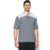 Under Armour Triumph Cage Jacket SS - Men's - Grey / White