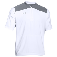 Under Armour Triumph Cage Jacket SS - Men's - White / Grey