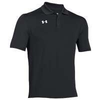 Under Armour Team Armour Polo - Men's - All Black / Black