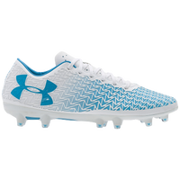 Under Armour CoreSpeed Force 3.0 FG - Women's - White / Light Blue