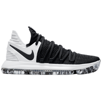 Nike KD X - Men's -  Kevin Durant - Black / White