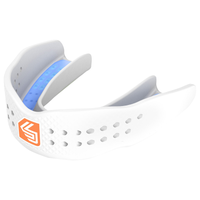 Shock Doctor Superfit All Sport Mouthguard - Grade School - All White / White