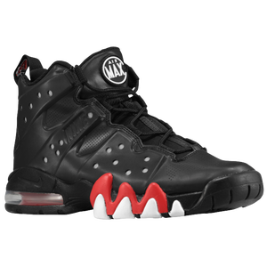Nike Air Max Barkley - Men's - Charles Barkley - Black/University Red