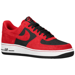 Nike Air Force 1 Low - Men's - University Red/Black/University Red