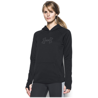 Under Armour Storm Armour Fleece Logo Hoodie - Women's - Black / Grey