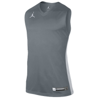 Jordan Team Jumpman Jersey - Men's - Grey / Silver