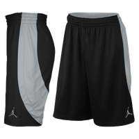 Jordan Team Jumpman Shorts - Men's - Black / Silver