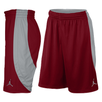Jordan Team Jumpman Shorts - Men's - Red / Silver