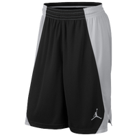 Jordan Team Jumpman Practice Shorts - Men's - Black / Silver