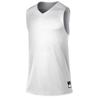 Jordan Team Jumpman Practice Reversible Jersey - Men's - White / Silver