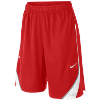 Nike LeBron Essential Shorts - Boys' Grade School - Red / White