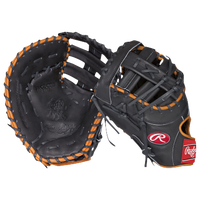 "Rawlings Heart of the Hide First Base Mitt -13"" - Men's -  Paul Goldschmidt - Black / Orange"