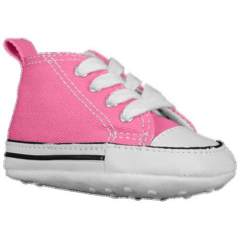 White Baby Converse Crib Shoes