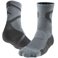 Jordan Jumpman Dri-Fit Crew Socks - Grey / Black