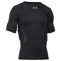 Under Armour Gameday Armour Football Top - Men's - All Black / Black