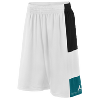 Jordan Trillionaire Shorts - Men's - White / Black