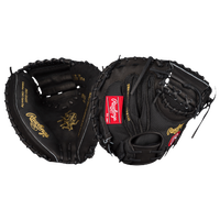 Rawlings Heart of the Hide Catchers Mitt - Men's -  Yadier Molina - Black / Gold