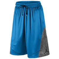 Jordan Fly Elephant Shorts - Men's - Blue / Grey
