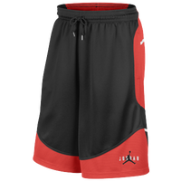 Jordan Retro 6 First Trophy Shorts - Men's - Black / Red