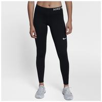 Nike Pro Cool Tights - Women's - Black / White