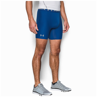"Under Armour HG Armour 2.0 6"" Compression Shorts - Men's - Blue / Grey"