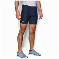 "Under Armour HG Armour 2.0 6"" Compression Shorts - Men's - Navy / Grey"