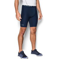 "Under Armour HG Armour 2.0 9"" Compression Shorts - Men's - Navy / Navy"