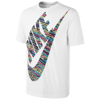 Nike Oversized Futura Tribal T-Shirt - Men's - White / Multicolor