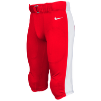 Nike Team Stock Mach Speed Pants - Men's - Red / White