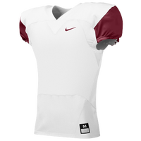 Nike Team Stock Mach Speed Jersey - Men's - White / Maroon