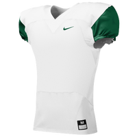 Nike Team Stock Mach Speed Jersey - Men's - White / Dark Green