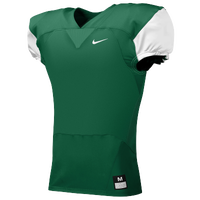 Nike Team Stock Mach Speed Jersey - Men's - Dark Green / White