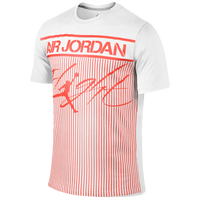 Jordan Colossal Flight T-Shirt - Men's - White / Red