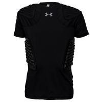 Under Armour Gameday Armour Football Top - Boys' Grade School - All Black / Black