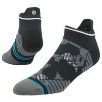 Stance Fusion Run Lightweight Tab Socks - Men's - Black / Grey