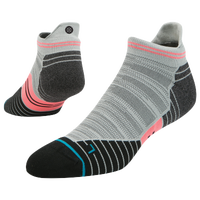 Stance Fusion Run Tab Socks - Men's - Red / Grey