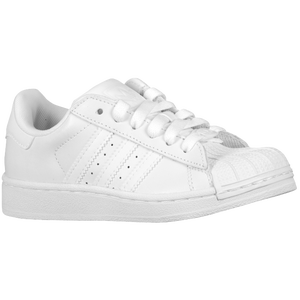 adidas Originals Superstar 2 - Boys' Preschool - White/White/White