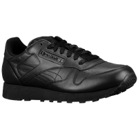Reebok Classic Leather - Men's - All Black / Black