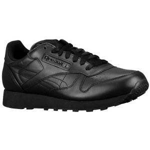 Reebok Classic Leather - Men's - Black/Black