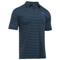 Under Armour Cool Switch Putting Stripe Golf Polo - Men's - Navy / Grey