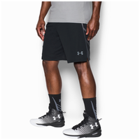 "Under Armour Select 9"" Shorts - Men's - Black / Grey"