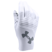 Under Armour Highlight Football Gloves - Men's - White / Grey