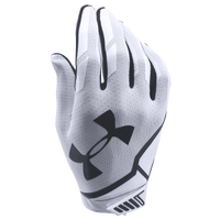 Under Armour Sizzle Football Gloves - Men's - White / Black