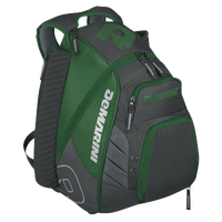 DeMarini VOODOO Rebirth Backpack - Dark Green / Grey